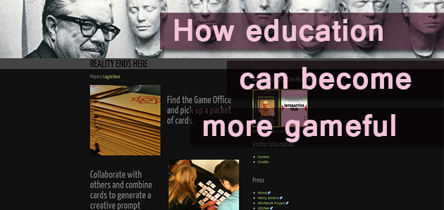 How education can become more gameful