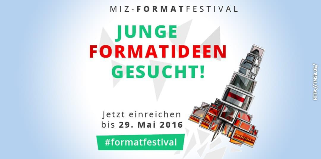 MIZ-Formatfestival. 2016.