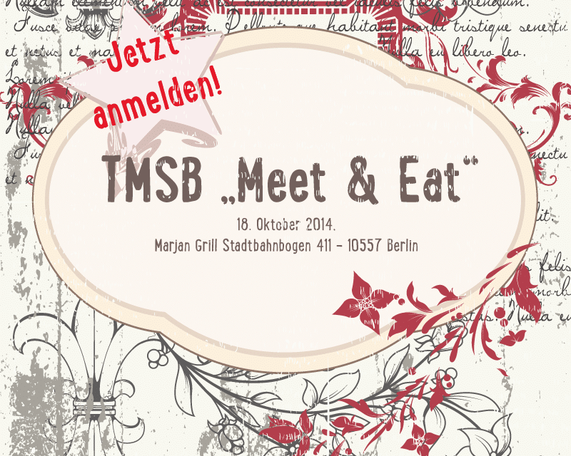 "TMSB ""Meet & Eat"" im Oktober '14"