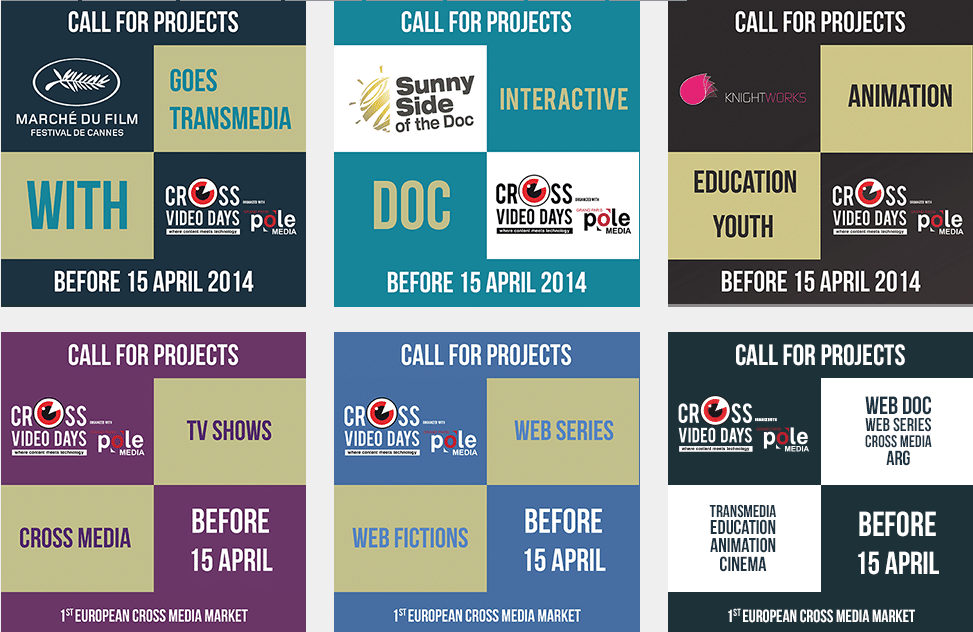 CALL FOR PROJECTS: Crossmedia Days 2014
