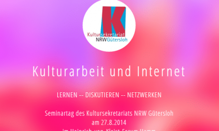 Seminartag für Kultureinrichtungen und Internet