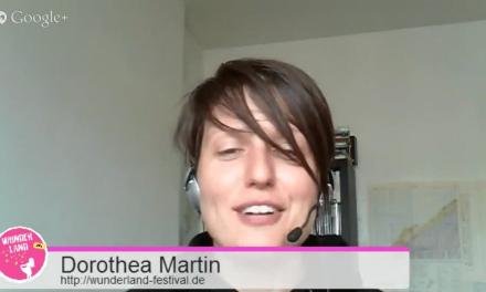 TFBN #5 – 24h Wunderland, Dorothea Martin