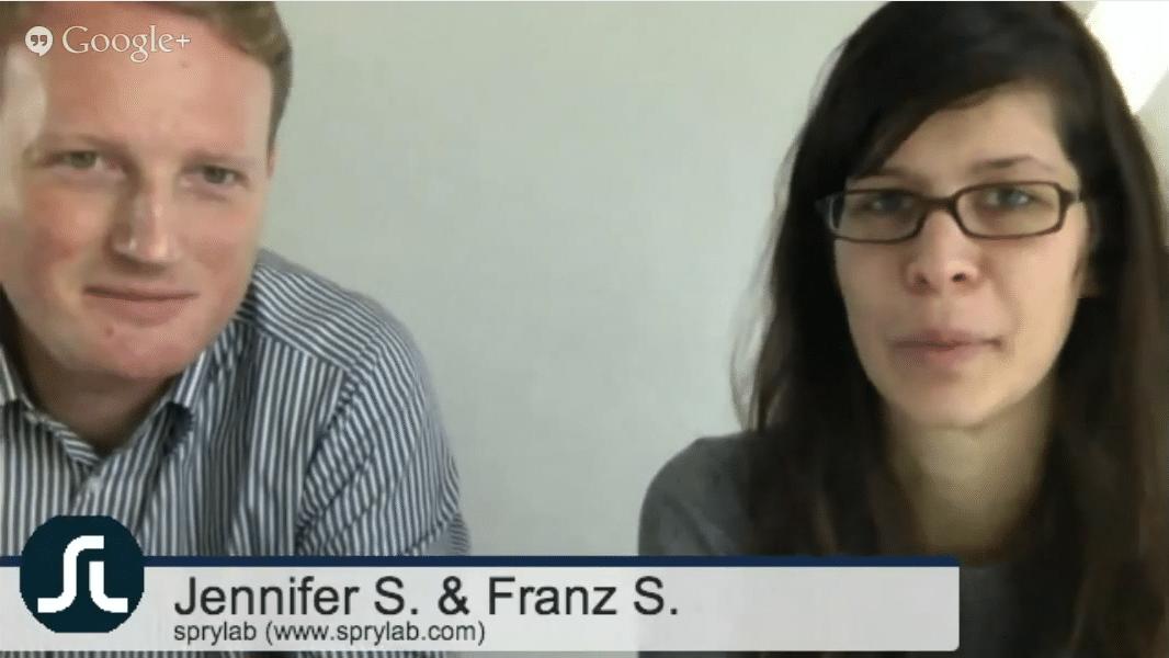 TFBN #6 – Location-Based-Storytelling, Jennifer S. und Franz S.