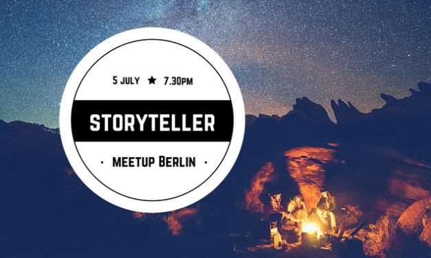 TMSB Storytellers Meetup Berlin July 2017