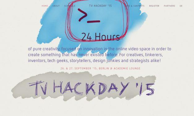 TV Hackday '15