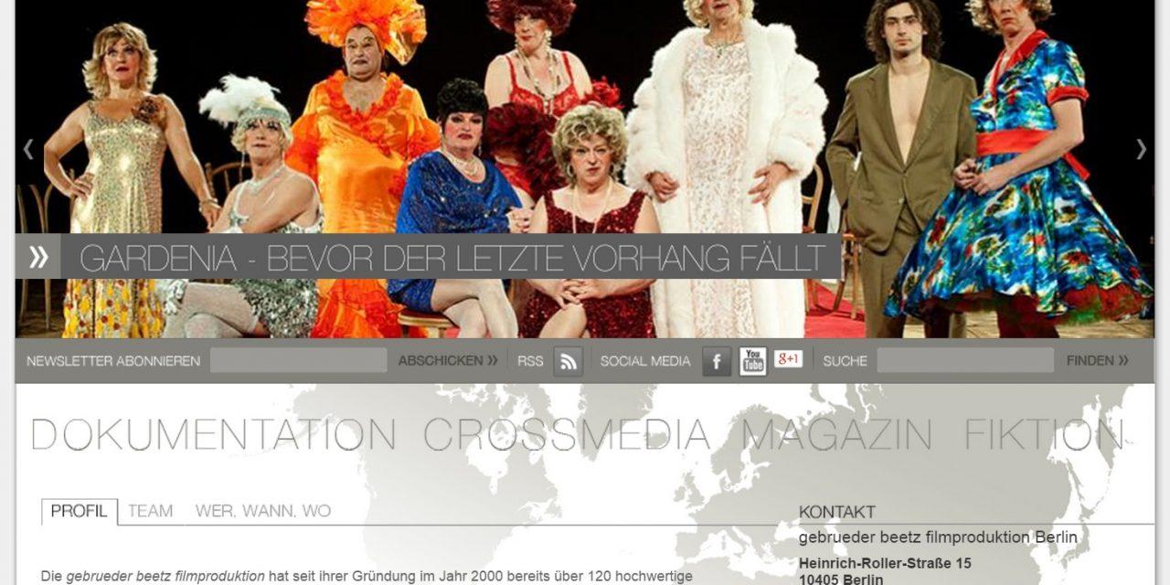 Ausschreibung Cross Media Praktikum bei der gebrueder beetz filmproduktion
