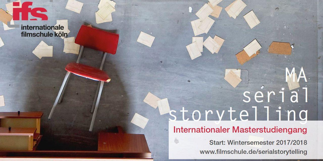 Masterstudiengang Serial Storytelling startet zum Wintersemester 2017/2018