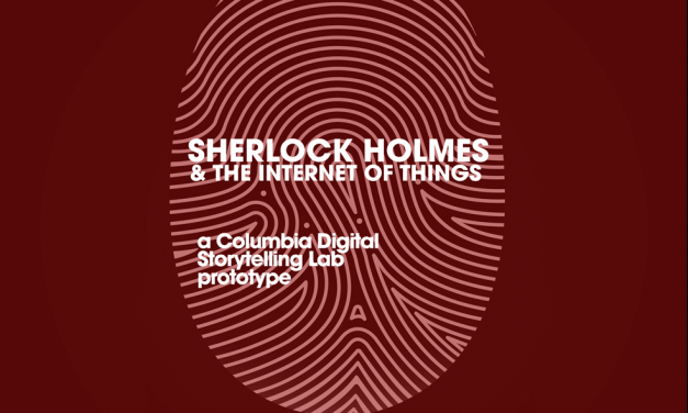 Sherlock Holmes & the Internet of Things
