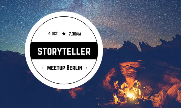 Storytellers Meetup Berlin October 2017