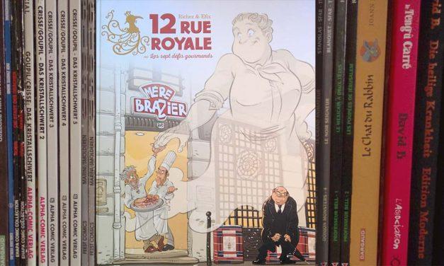 [DE] Graphic-Novel-Rezension: Hervé Richez & Efix, 12 Rue Royale