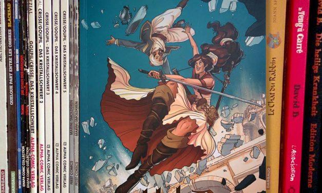 [DE] Graphic Novel-Rezension: Tony Cliff, Delilah Dirk and the Turkish Lieutenant